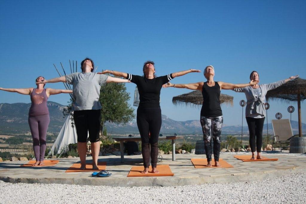 yoga vakantie casa la suerte spanje